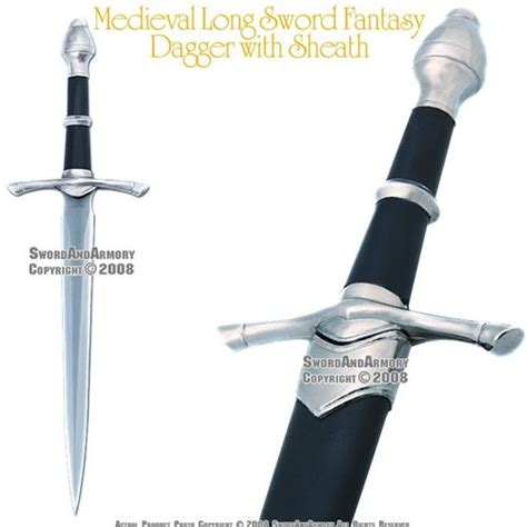 by the sword medievalgothic pirate pinterest medieval long sword fantasy dagger with sheath medieval