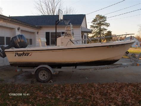 used parker boats in maryland 2004 parker 1801 4 sale maryland the hull truth