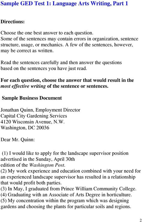 essay for ged test sles how to write an essay for the ged test www pixshark