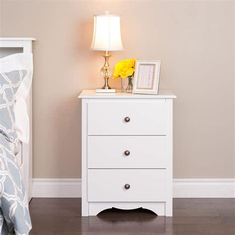 prepac manufacturing ltd monterey 3 drawer nightstand