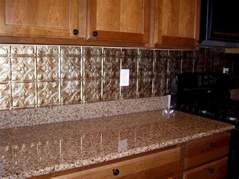 kitchen metal backsplash ideas faux tin kitchen backsplash faux tin kitchen backsplash