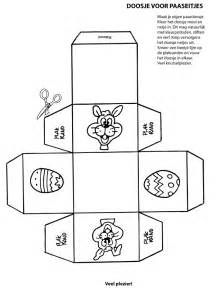 doosje maken voor pasen knutselpagina nl knutselen