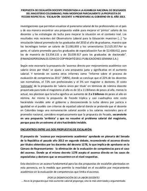 decreto salarial 2016 de 1278 de 2002 salario escalafn docente tabla salarial docentes decreto