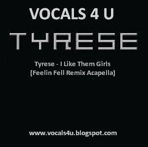 ahmir no place like home acapella vocals 4 u tyrese i like them feelin fell remix