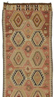 10 X 10 Turkish Kilim Rugs In Oranges - k0004676 orange new turkish kilim rug