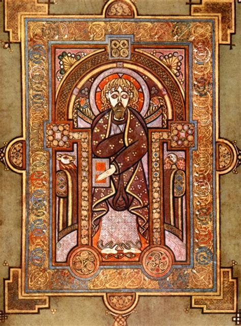 book of kells pictures celtic monks book of kells early c9 171 contextnotes