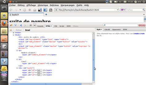 javascript tutorial linux le blog d eric german backbone js petit tutorial