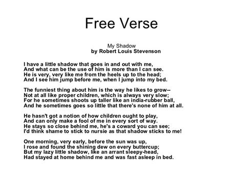 free poem templates how to write a free verse poemwritings and papers