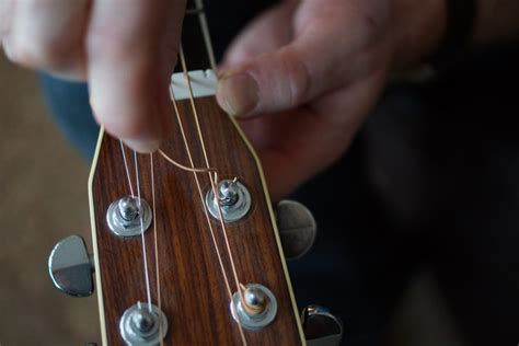 What Do You Need For String - how to change guitar strings studio 33