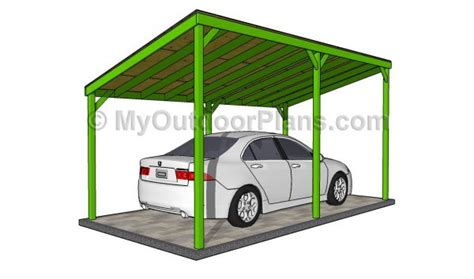building a carport off side of house wood carport designs myoutdoorplans free woodworking plans and projects diy shed