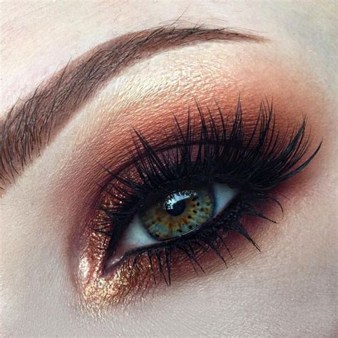 autumn eye makeup ideas  girlshue