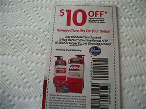 the rug doctor rental coupons