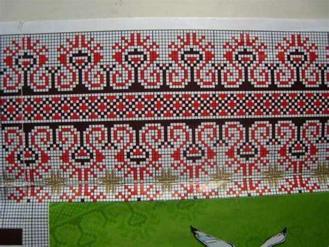 Blouse Motif Silang сучасна вишиванка embroidery ukraine українська вишивка blouse patterns