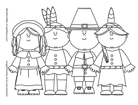 pilgrim coloring pages thanksgiving pilgrims and indians coloring page color
