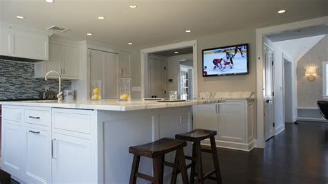 kitchen television ideas cari s newly remodeled kitchen baths hooked on houses