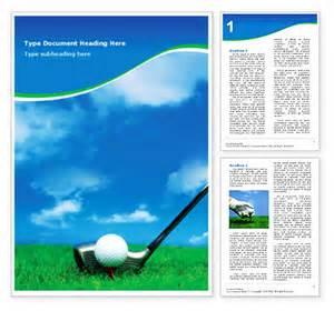 free golf templates golf word template design id 0000000440 smiletemplates