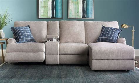 best 25 reclining sectional ideas on