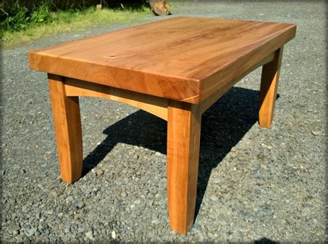 made wood coffee table wood slab