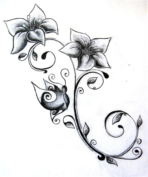 tribal and flower design tattoos flower tattoos designs ideas and meaning tattoos for you
