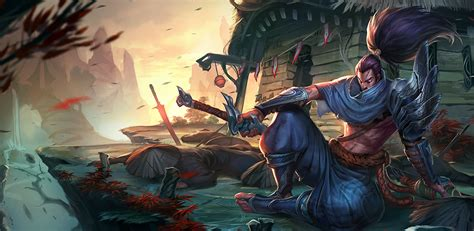 amazoncom yasuo league  legends  wallpaper