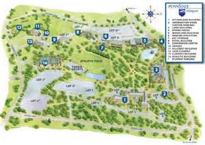 Penn State University Campus Map by Campus Map Penn State Abington