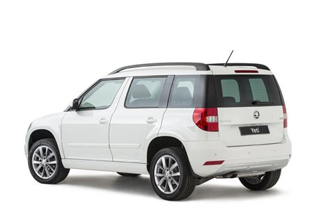 skoda yeti specifications 2014 skoda yeti pricing and specifications photos 1
