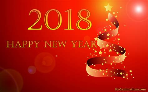 new year theme computer wallpaper new year 2018 68 images