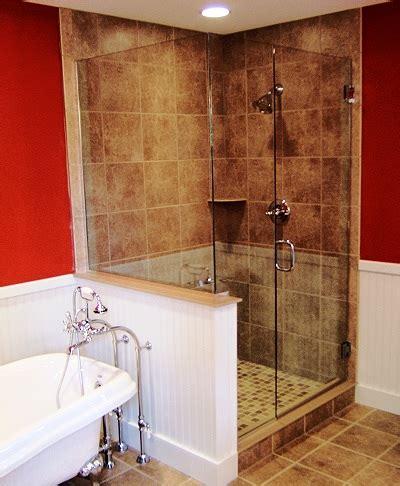 Two Panel Sliding Shower Bath Screen frameless shower door faqs and facts