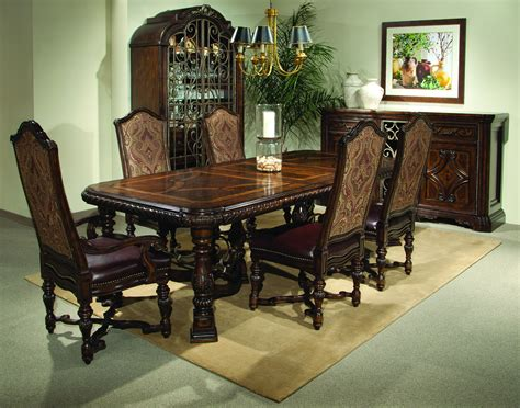 the valencia trestle dining room collection 14765 dining