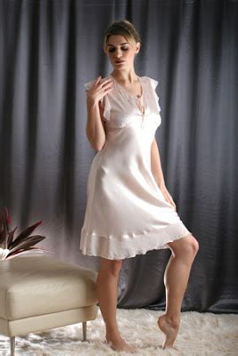 chagne silk gowns latset nighty dresses for fashion trends styles