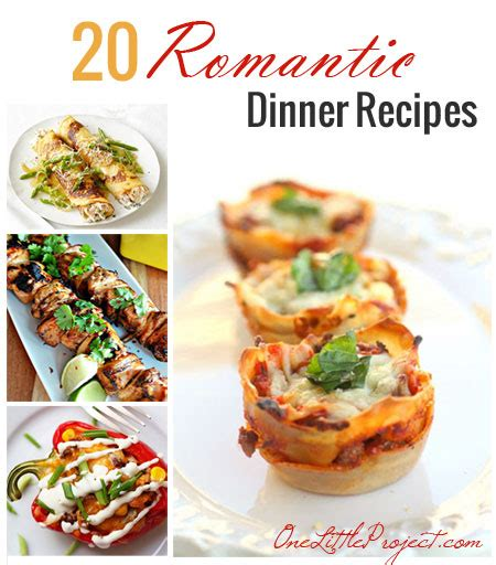 20 dinner recipes dinner for two