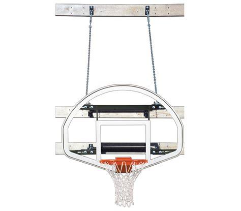 team supermount 46 advantage wall mounted hoop