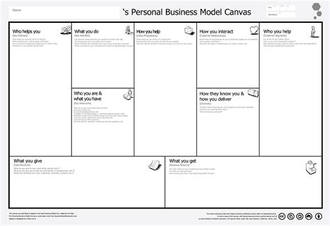 Business Model Canvas Template Word Popular Sles Templates Business Model Canvas Template Word