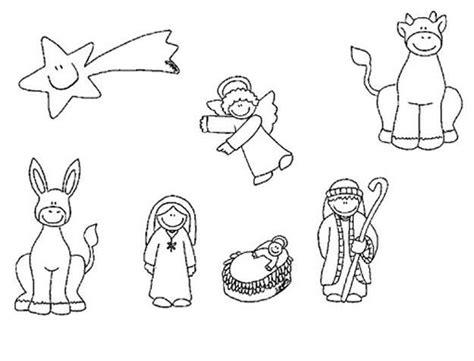 imagenes de nacimientos navideños para colorear y recortar adornos de navidad para ni 241 os dibujos para colorear y