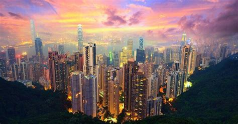tourist places  visit  hong kong