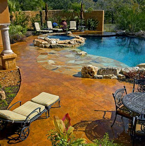 backyard san antonio texas tuscan decor texas tuscan model home water