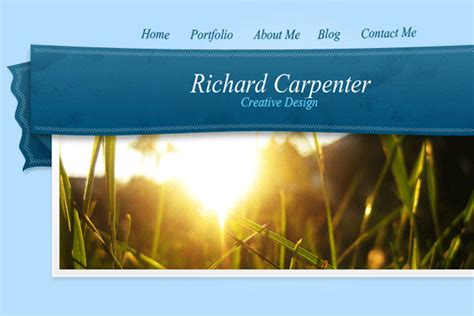 design header photoshop photoshop web graphics learn to create a ribbon style