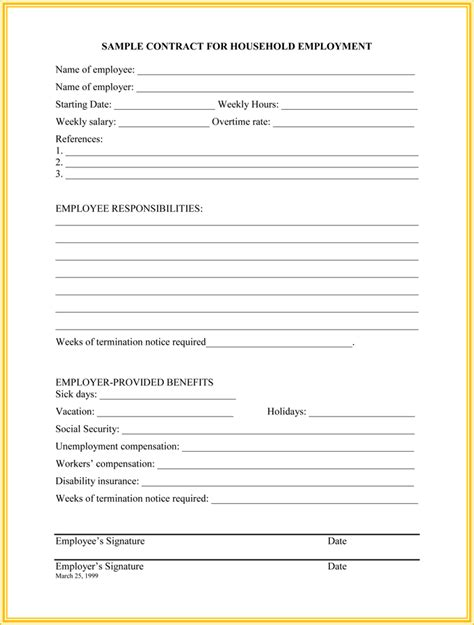7 Employment Termination Letter Sles To Write A Superior Letter Termination Form Template Free