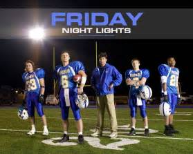 friday lights the friday lights may be project to