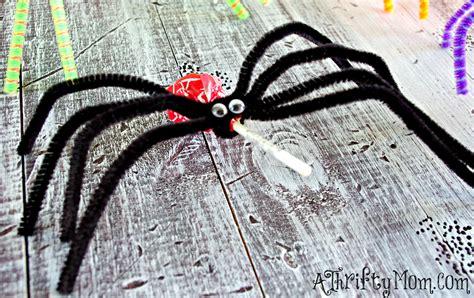 spider craft diy projects for diy lollipop spiders diy lollipop