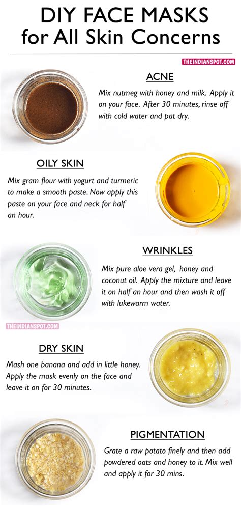 the best diy mask best diy masks for your skin problems