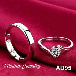 Cincin Palladium 95 jual cincin kawin cincin tunangan palladium perak dan emas