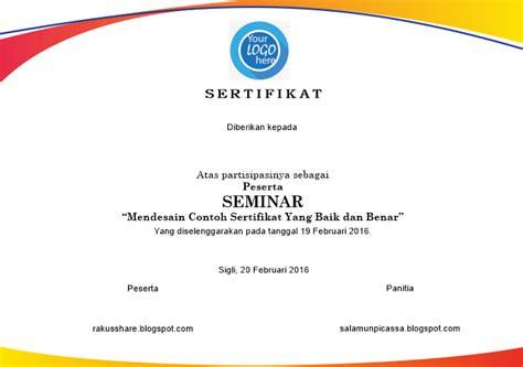 template sertifikat word piagam penghargaan sertifikat dalam bentuk coreldraw