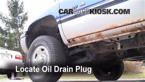 how to drain gas 2000 2002 dodge ram van 2500 oil filter change dodge ram 2500 1994 2002 1997 dodge ram 2500 5 9l v8 standard cab pickup