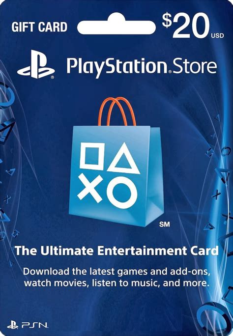 Playstation Gift Cards - 20 playstation store gift card ps3 ps4 ps vita digital code np game station