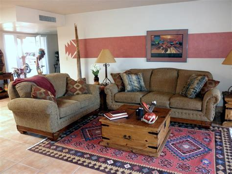 southwestern living room furniture southwestern hacienda style townhouse southwestern