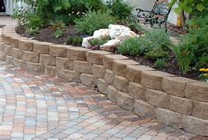 Retaining walls stones and retaining wall blocks on pinterest