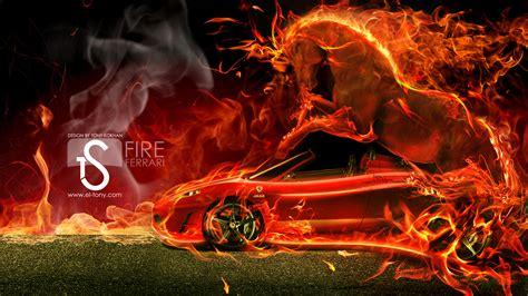 ferrari horse wallpaper ferrari fire by satel118 on deviantart