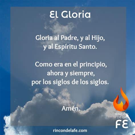 oraciones catolicas cortas para compartir aula cristiana gloria tv gloria gloria oraci 243 n gloria al padre oraciones
