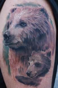 wild tattoos cute bear tattoos